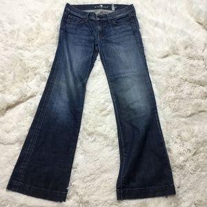 7 For All Mankind Dojo Jeans Sz 29 Lexie